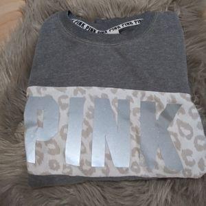 💄 Pink Victoria Secret Crew